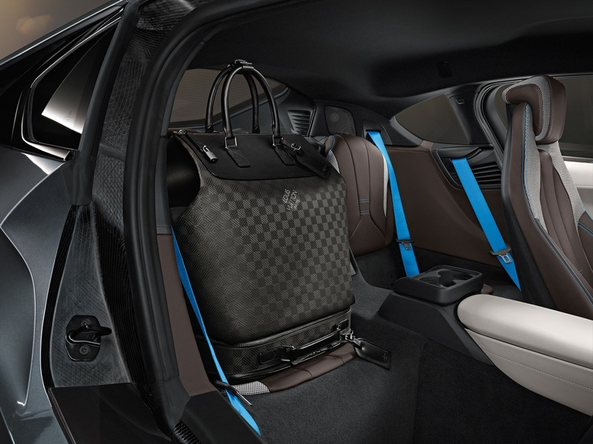 bmw i8 louis vuitton luggage. Black Bedroom Furniture Sets. Home Design Ideas