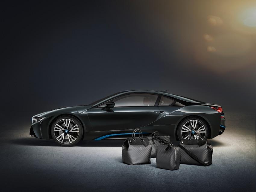 BMW I8 Louis Vuitton Luggage
