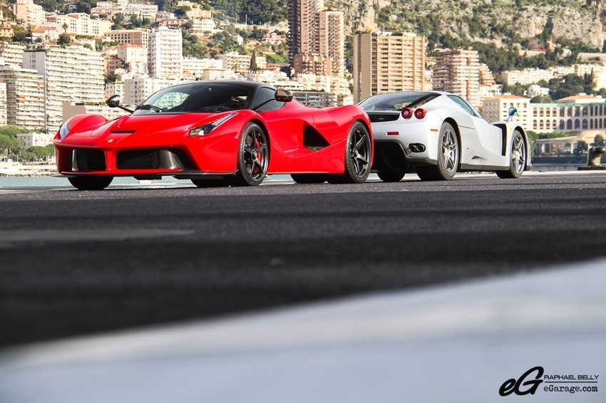 LaFerrari and Ferrari Enzo