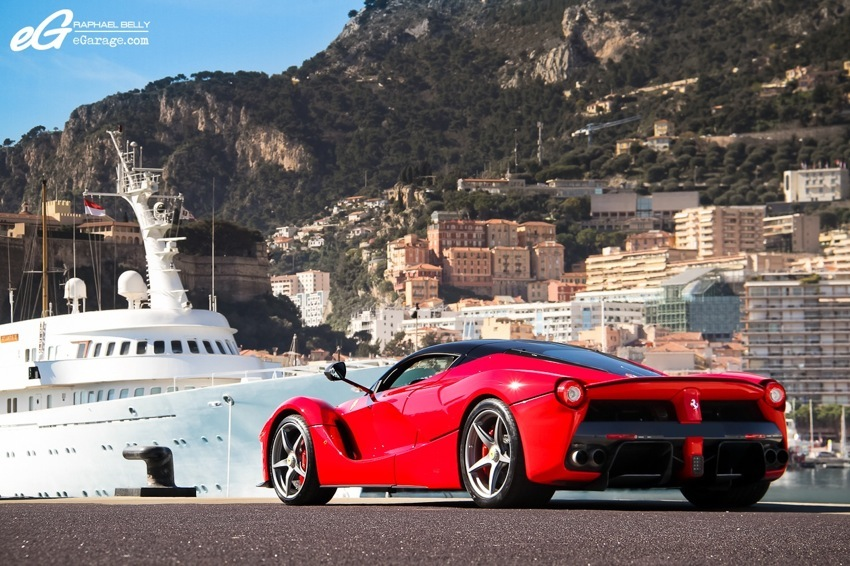 LaFerrari x Monaco Raphael Belly