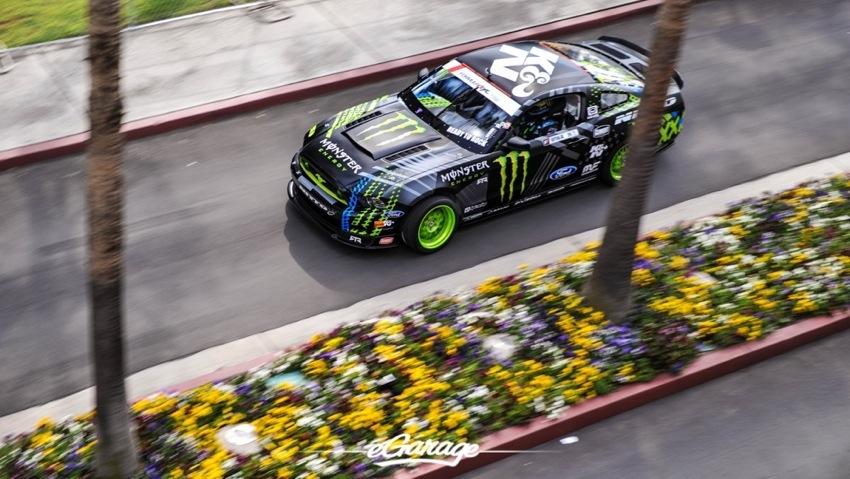 2014 Formula Drift Long Beach Vaughn Gittin Jr