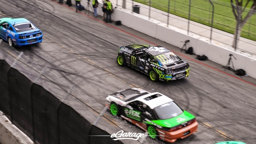2014 Formula Drift Long Beach Vaughn Gittin Jr Lineup