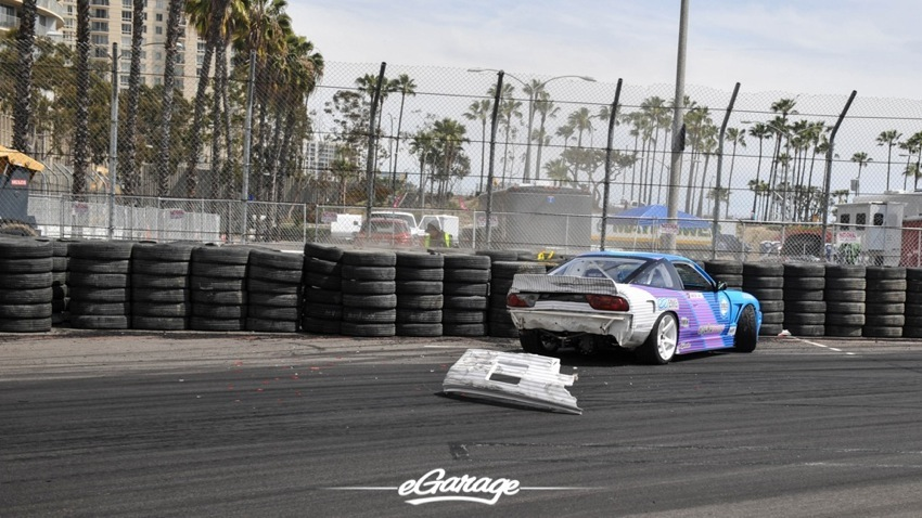 2014 Formula Drift Long Beach Nate Hamilton whoops
