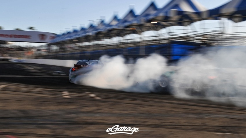 2014 Formula Drift Long Beach Gushi and Dai