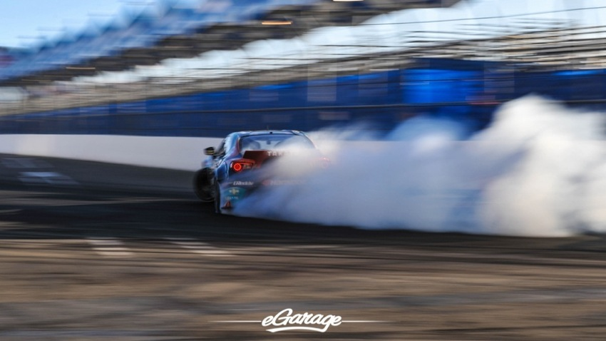 2014 Formula Drift Long Beach Gushi smoke