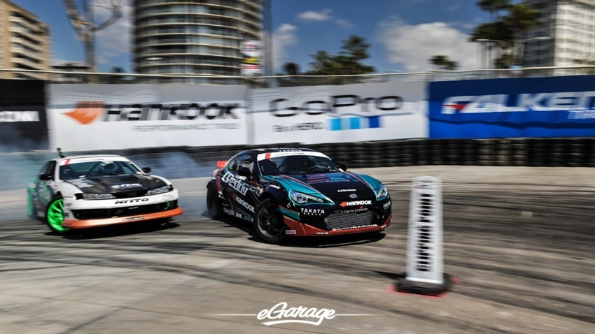 2014 Formula Drift Long Beach Battle